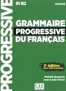 Bild von Grammaire progressive. Niveau avancé, 2ème édition. Buch + Audio-CD